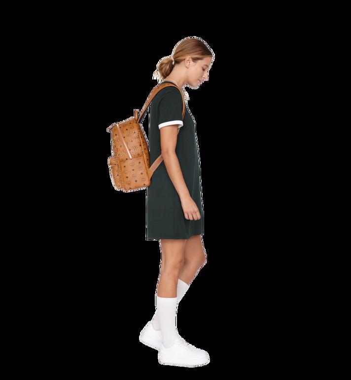 MCM Stark Backpack in Graded M Studs Visetos Alternate View 7