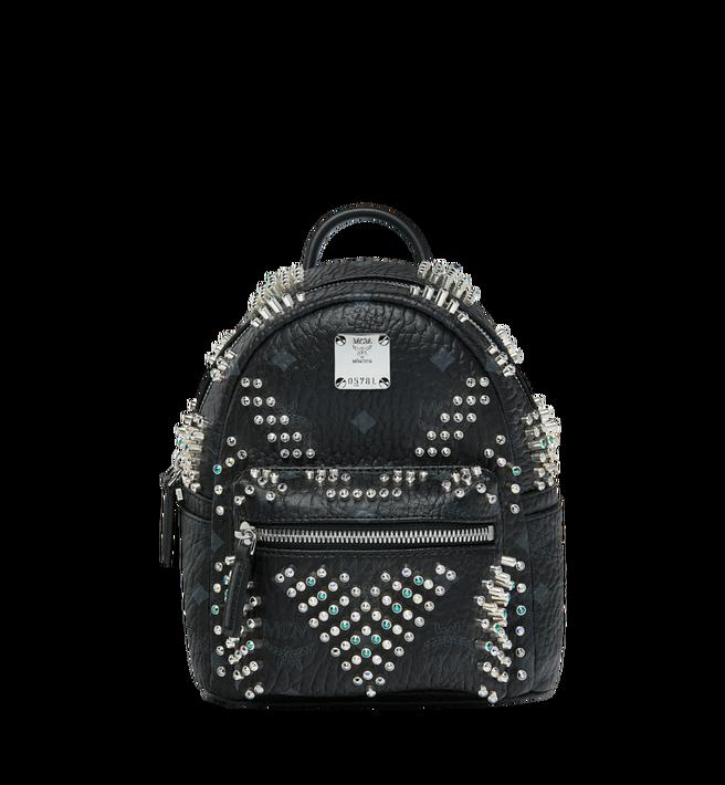 MCM Stark Bebe Boo Backpack in Graded M Studs Alternate View