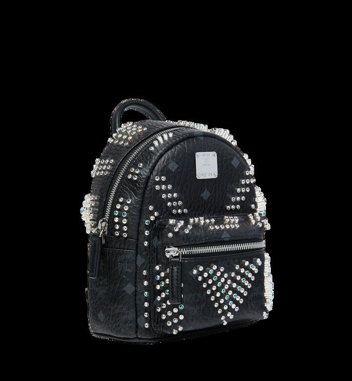 MCM Stark Bebe Boo Backpack in Graded M Studs Black MMK9SVE22BK001 Alternate View 2