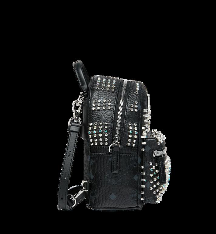 MCM Stark Bebe Boo Backpack in Graded M Studs Black MMK9SVE22BK001 Alternate View 3