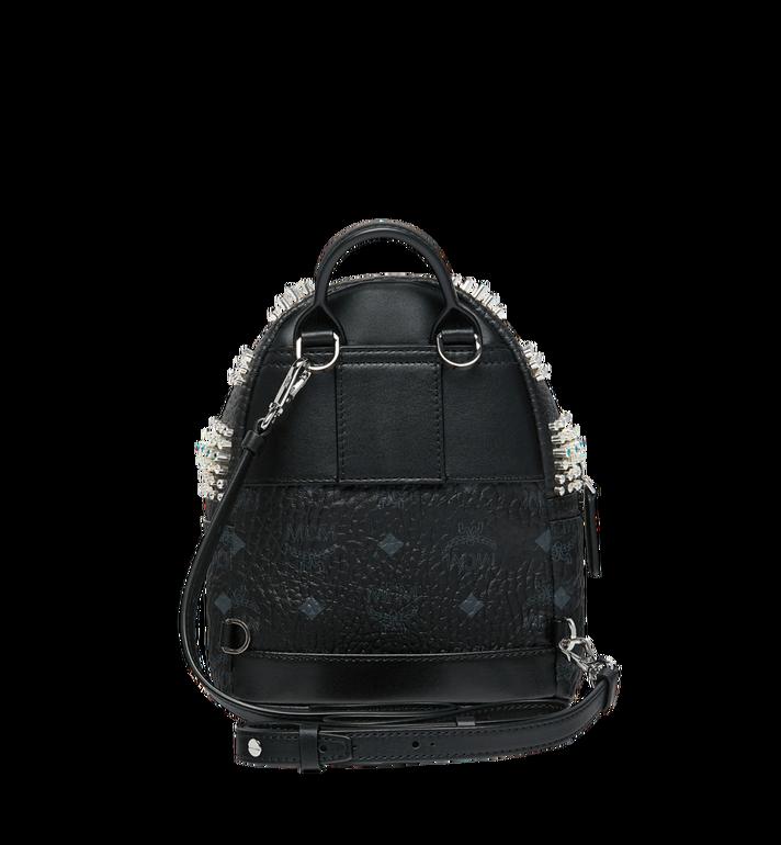 MCM Stark Bebe Boo Backpack in Graded M Studs Black MMK9SVE22BK001 Alternate View 6