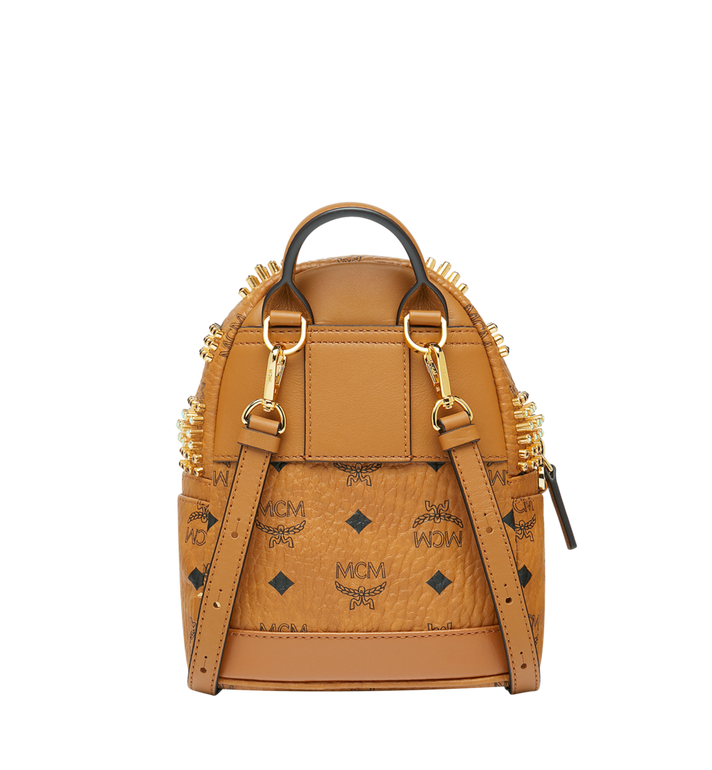 MCM Stark Bebe Boo Rucksack in Graded M Studs Cognac MMK9SVE22CO001 Alternate View 5