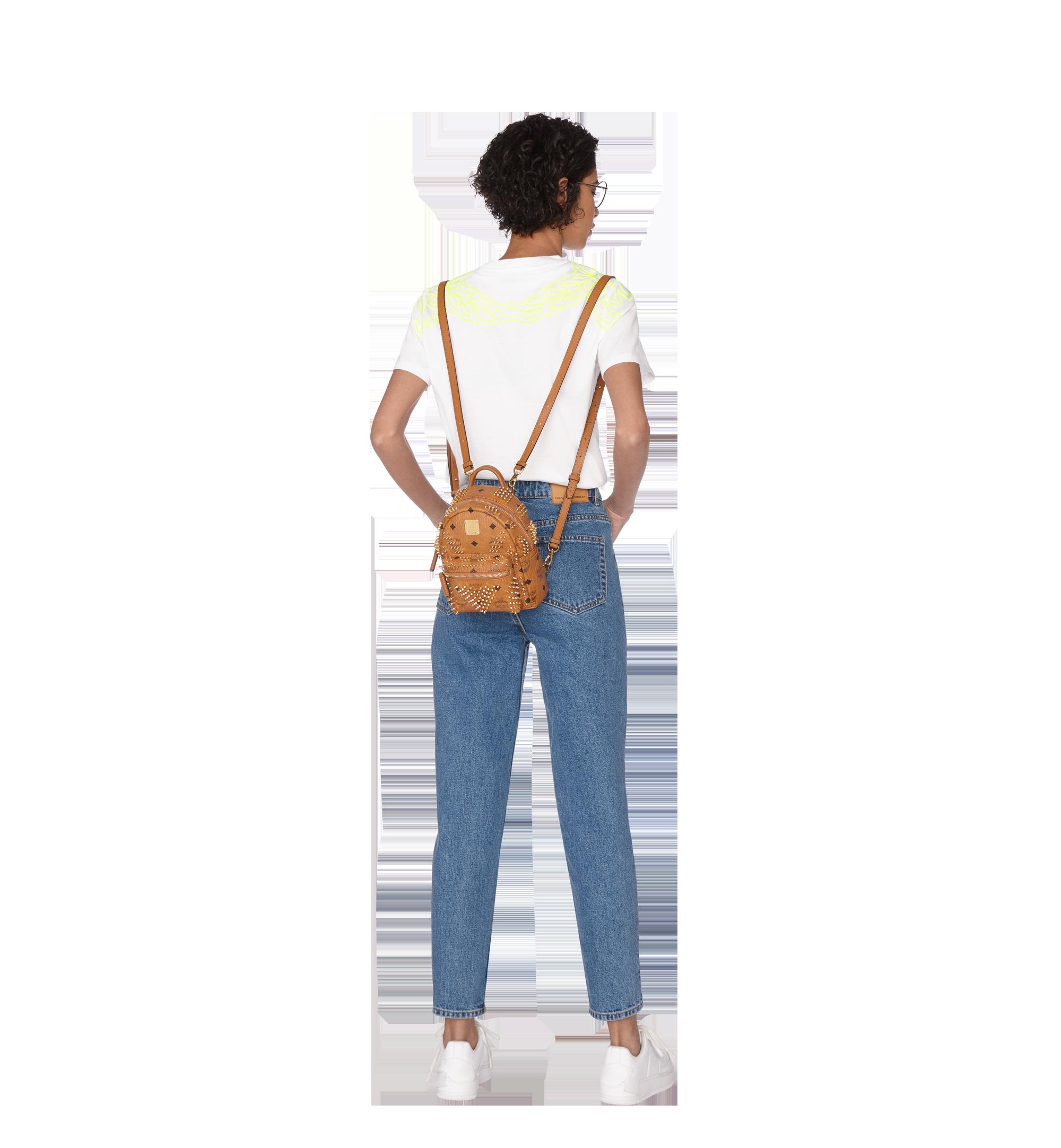 20 cm 8 in Stark Bebe Boo Backpack in Graded M Studs