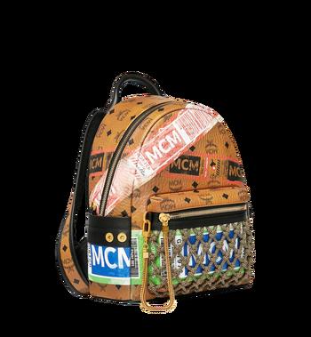 MCM Stark Backpack in Flight Print Visetos Alternate View 2