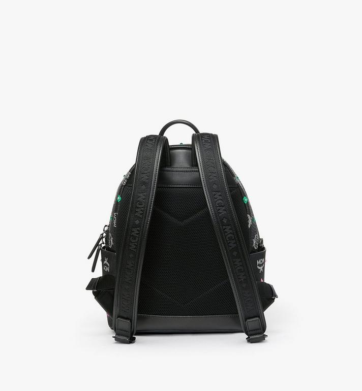 MCM Stark Backpack in Skyoptic Stud Visetos Alternate View 3