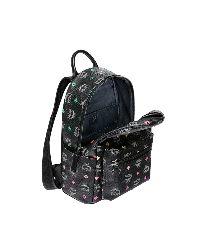 MCM Stark Backpack in Skyoptic Stud Visetos Alternate View 5