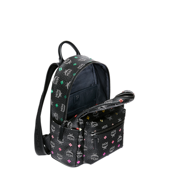 MCM Stark Backpack in Skyoptic Stud Visetos MMK9SVE30BA001 AlternateView5