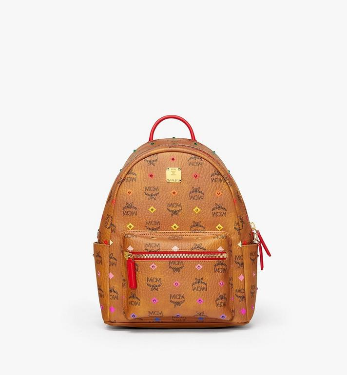 MCM Stark Backpack in Skyoptic Stud Visetos MMK9SVE30CA001 AlternateView