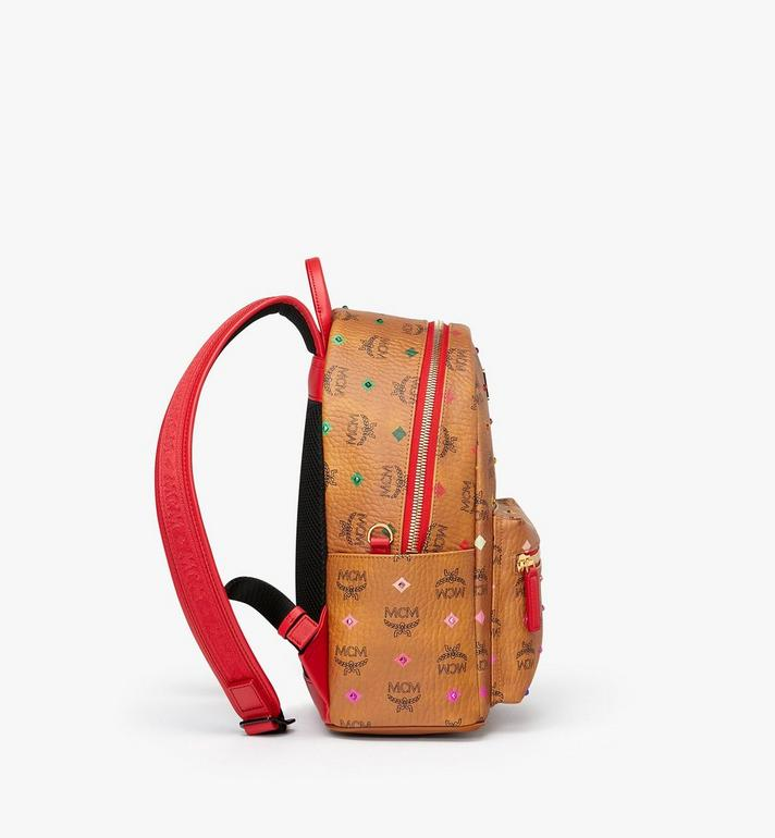 MCM Stark Backpack in Skyoptic Stud Visetos MMK9SVE30CA001 AlternateView2
