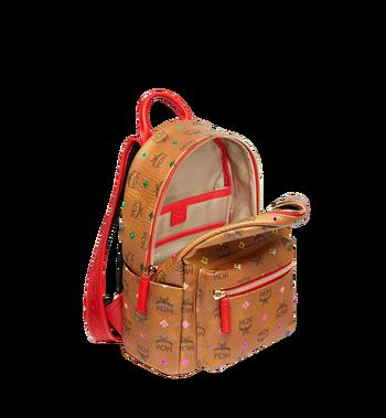 MCM Stark Backpack in Skyoptic Stud Visetos MMK9SVE30CA001 AlternateView5