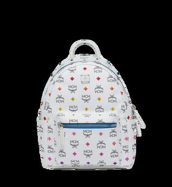 MCM Stark Backpack in Skyoptic Stud Visetos MMK9SVE30WA001 AlternateView