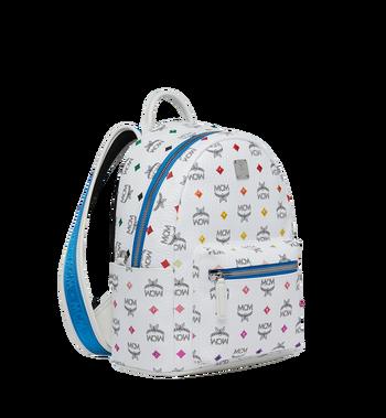 MCM Stark Backpack in Skyoptic Stud Visetos MMK9SVE30WA001 AlternateView2