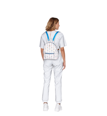 MCM Stark Backpack in Skyoptic Stud Visetos MMK9SVE30WA001 AlternateView6