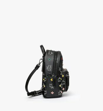 MCM Stark Bebe Boo Backpack in Skyoptic Stud Visetos MMK9SVE36BA001 AlternateView2