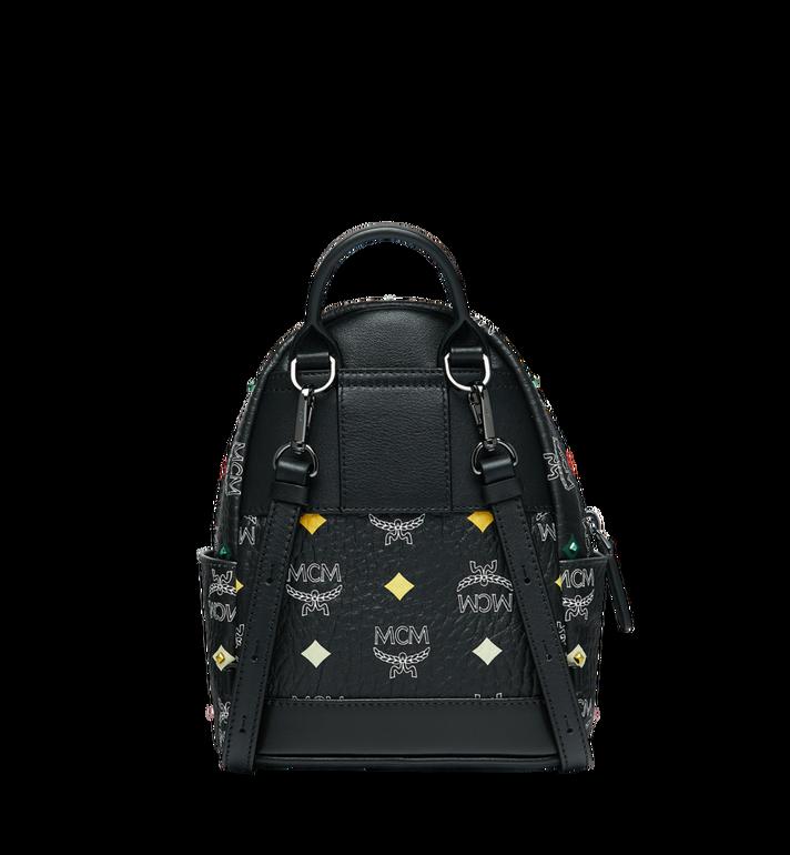 MCM Stark Bebe Boo Backpack in Skyoptic Stud Visetos MMK9SVE36BA001 AlternateView5