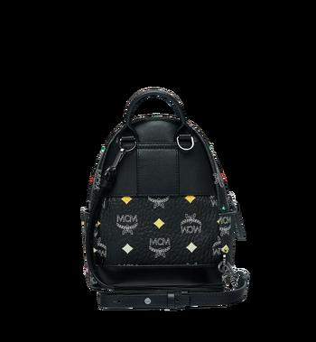 MCM Stark Bebe Boo Backpack in Skyoptic Stud Visetos MMK9SVE36BA001 AlternateView6