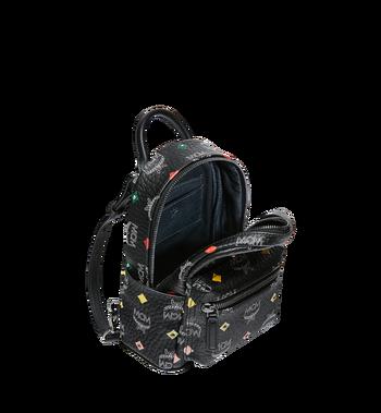 MCM Stark Bebe Boo Backpack in Skyoptic Stud Visetos MMK9SVE36BA001 AlternateView7