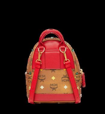 MCM Stark Bebe Boo Backpack in Skyoptic Stud Visetos MMK9SVE36CA001 AlternateView5