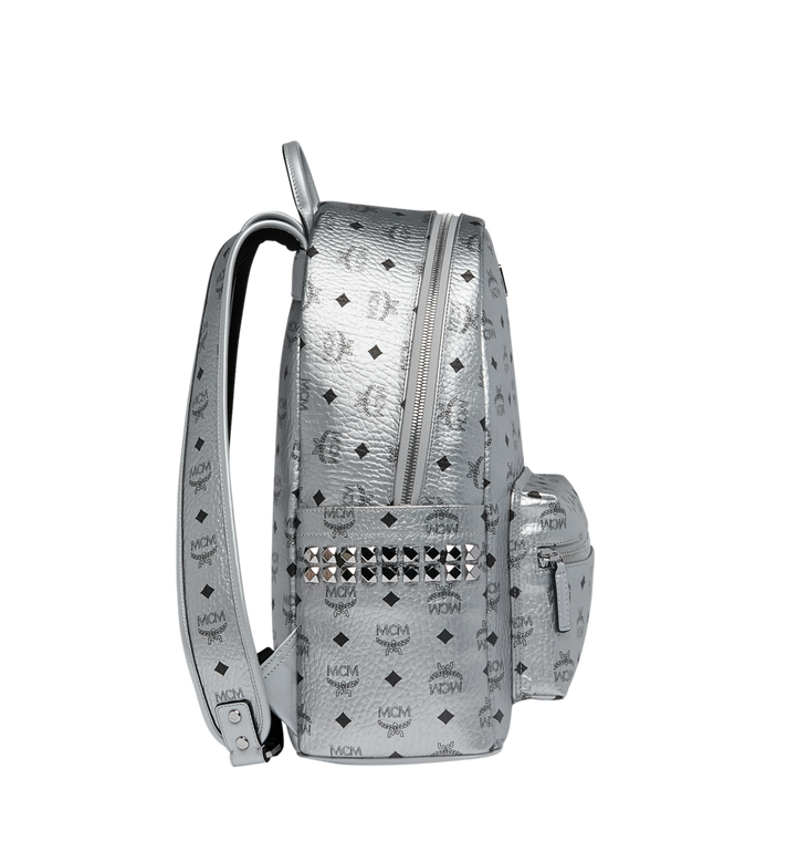 MCM Stark Side Studs Backpack in Visetos MMK9SVE42SB001 AlternateView3