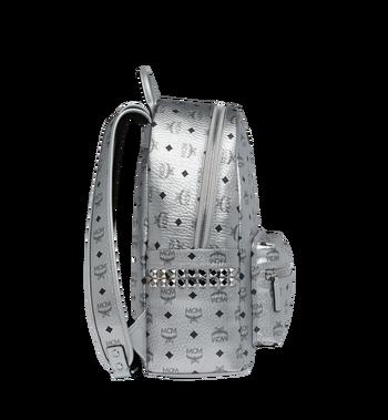 MCM Stark Side Studs Backpack in Visetos MMK9SVE42SB001 AlternateView3