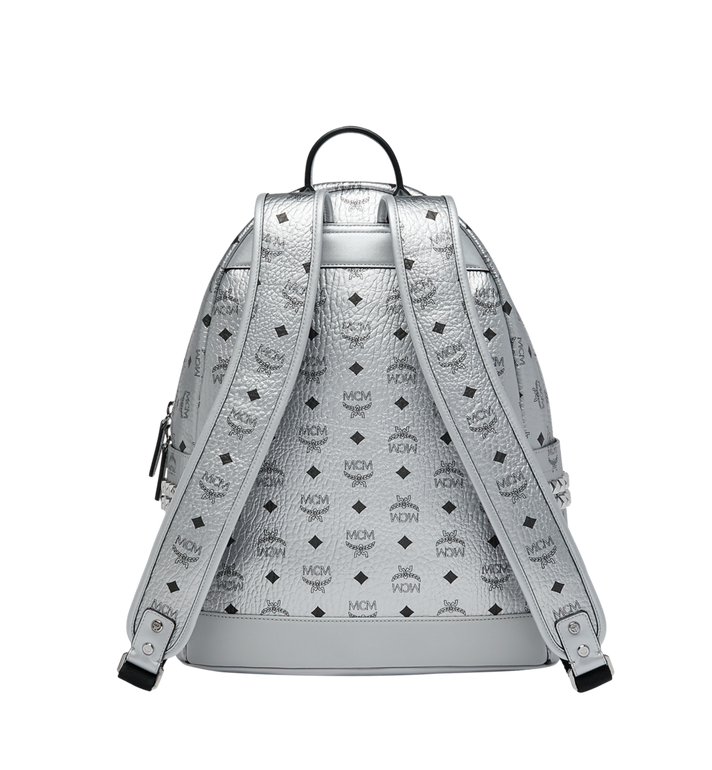 MCM Stark Side Studs Backpack in Visetos MMK9SVE42SB001 AlternateView4