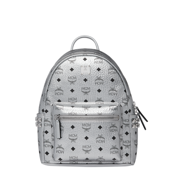 MCM Stark Side Studs Backpack in Visetos MMK9SVE43SB001 AlternateView1