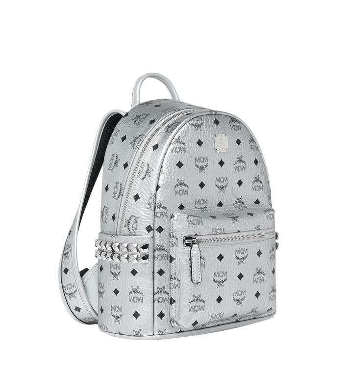 MCM Stark Side Studs Backpack in Visetos MMK9SVE43SB001 AlternateView2