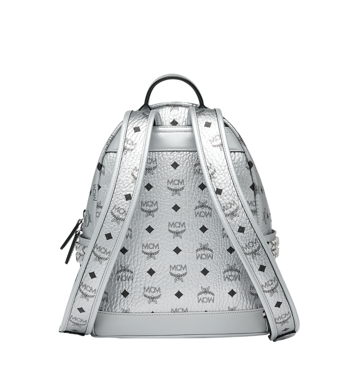 MCM Stark Side Studs Backpack in Visetos MMK9SVE43SB001 AlternateView4