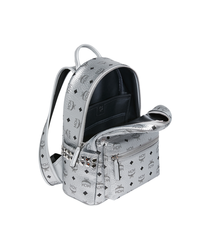 MCM Stark Side Studs Rucksack in Visetos Alternate View 5