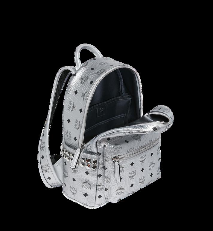 MCM Stark Side Studs Backpack in Visetos MMK9SVE43SB001 AlternateView5