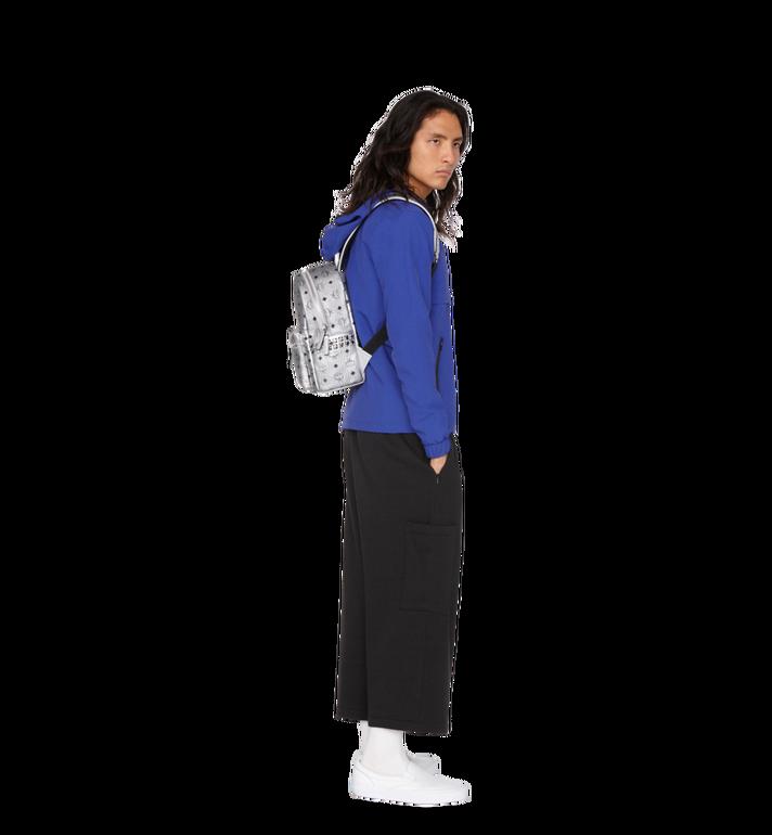 MCM Stark Side Studs Backpack in Visetos MMK9SVE43SB001 AlternateView7