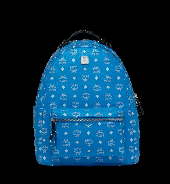 MCM Stark Backpack in White Logo Visetos MMK9SVE48HI001 AlternateView