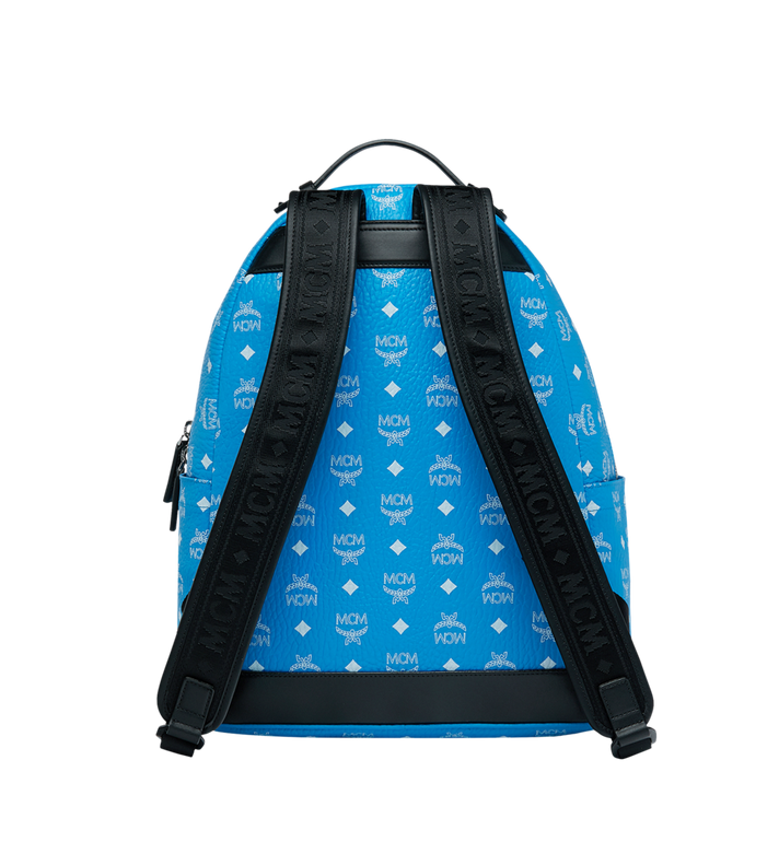 MCM Stark Backpack in White Logo Visetos MMK9SVE48HI001 AlternateView4