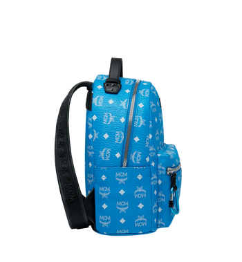 MCM Stark Backpack in White Logo Visetos MMK9SVE49HI001 AlternateView3