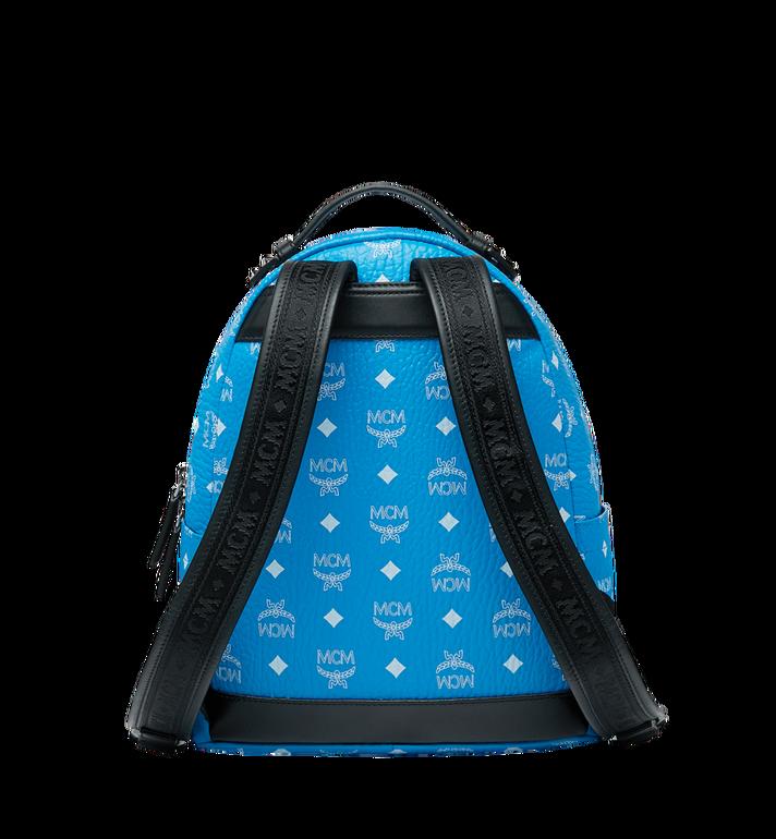 MCM Stark Backpack in White Logo Visetos Alternate View 4