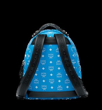 MCM Stark Backpack in White Logo Visetos MMK9SVE49HI001 AlternateView4