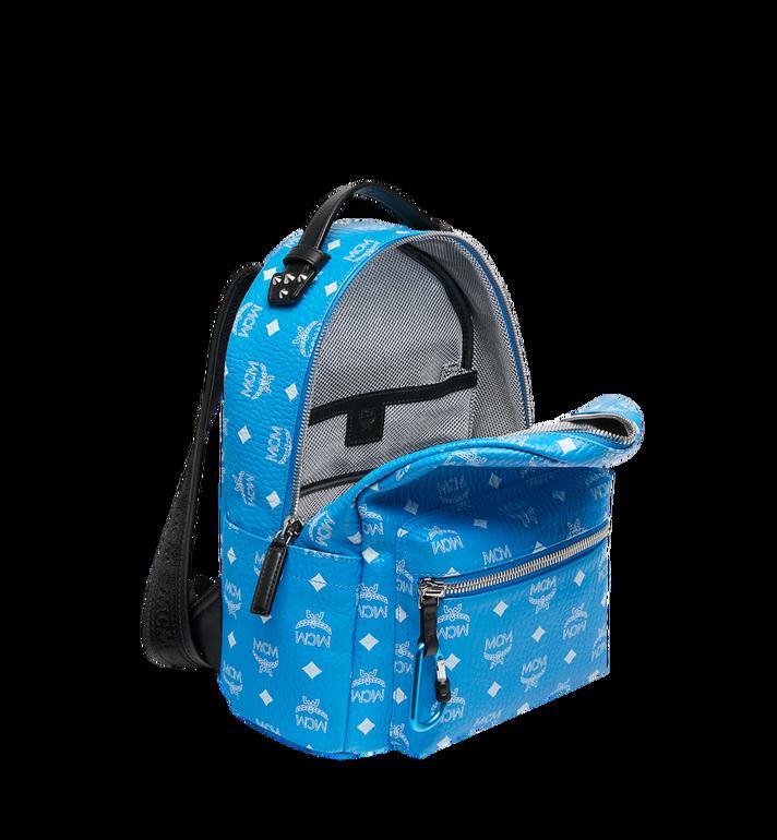 MCM Stark Backpack in White Logo Visetos Alternate View 5