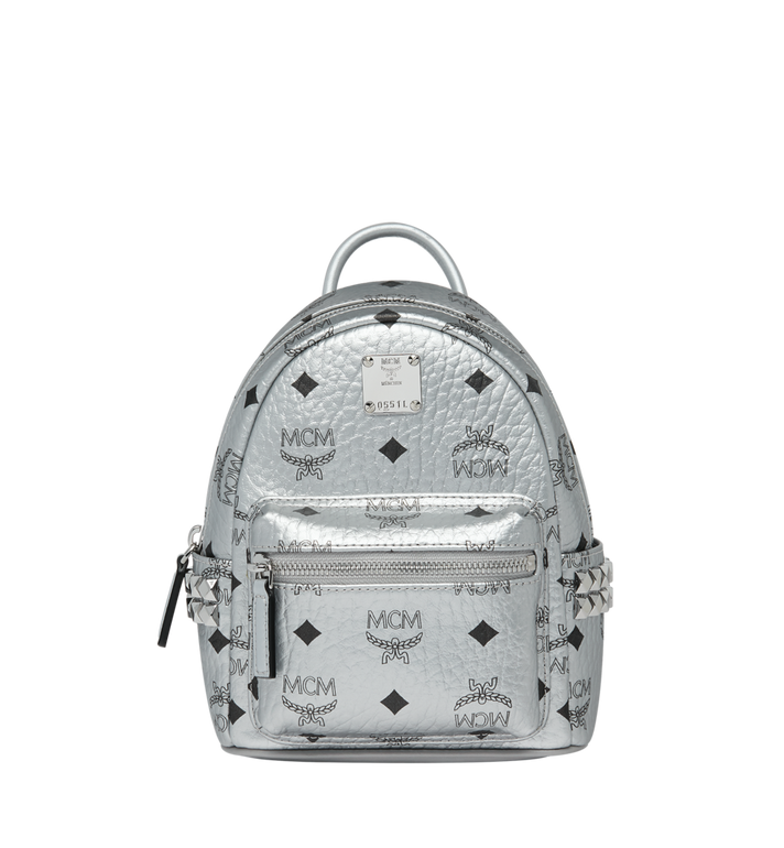MCM Stark Bebe Boo Backpack in Visetos MMK9SVE50SB001 AlternateView1