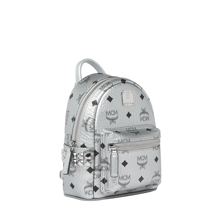 MCM Stark Bebe Boo Backpack in Visetos MMK9SVE50SB001 AlternateView2