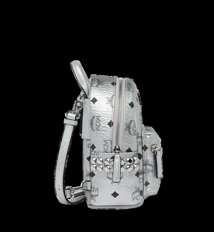 MCM Stark Bebe Boo Backpack in Visetos MMK9SVE50SB001 AlternateView3