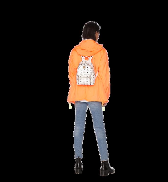 MCM Stark Backpack in Studded Outline Visetos White MMK9SVE62WT001 Alternate View 6