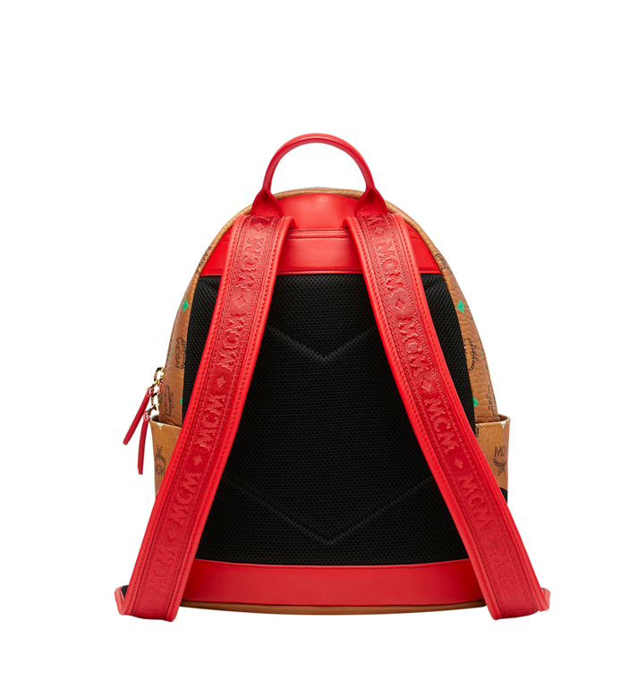 MCM Stark Backpack in Skyoptic Visetos AlternateView4