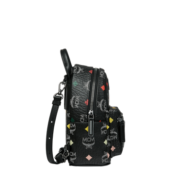 MCM Stark Bebe Boo Backpack in Skyoptic Visetos Alternate View 3