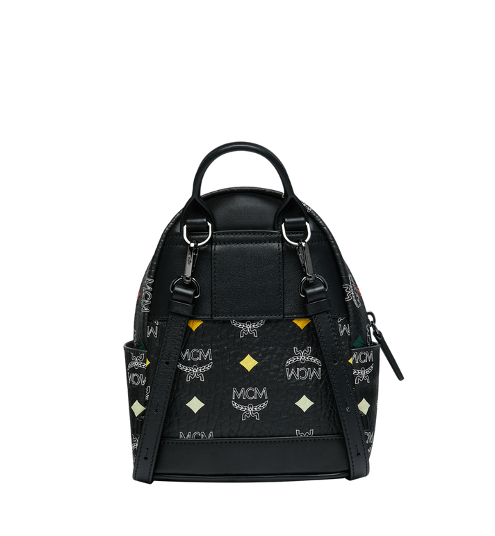 MCM Stark Bebe Boo Backpack in Skyoptic Visetos AlternateView5