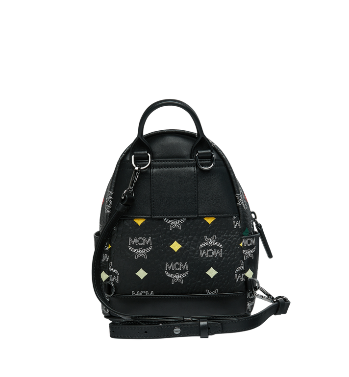 MCM Stark Bebe Boo Backpack in Skyoptic Visetos AlternateView6
