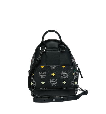 MCM Stark Bebe Boo Backpack in Skyoptic Visetos Alternate View 6