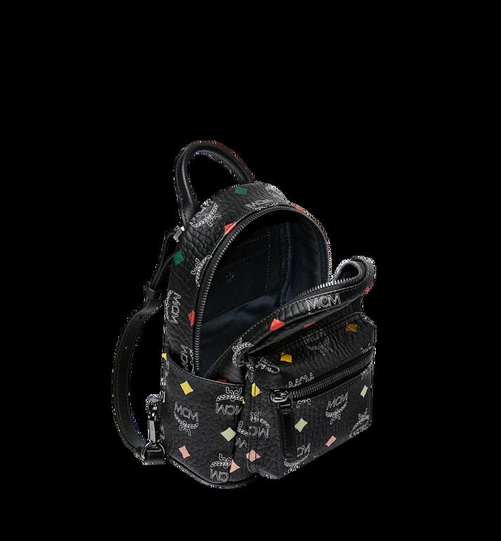 MCM Stark Bebe Boo Backpack in Skyoptic Visetos AlternateView7