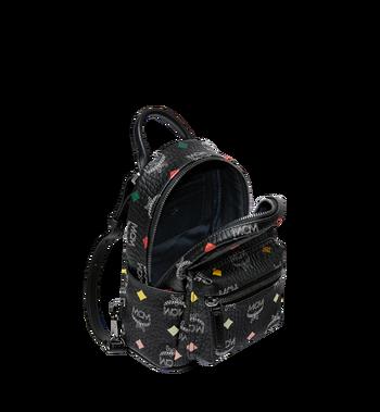 MCM Stark Bebe Boo Backpack in Skyoptic Visetos Alternate View 7