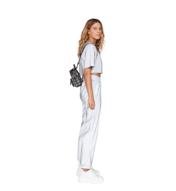 MCM Stark Bebe Boo Backpack in Skyoptic Visetos AlternateView9