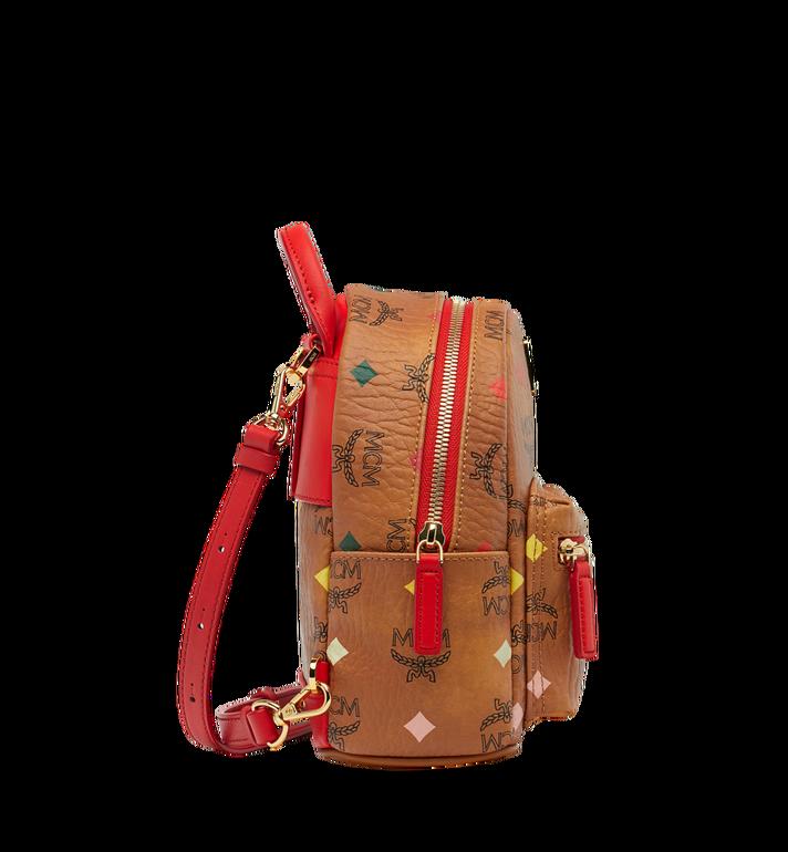 MCM Stark Bebe Boo Backpack in Skyoptic Visetos AlternateView3